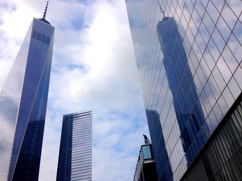 Um World Trade Center fotografia de stock