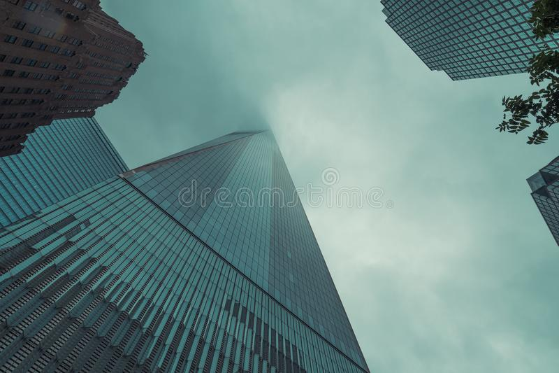 Um World Trade Center imagens de stock