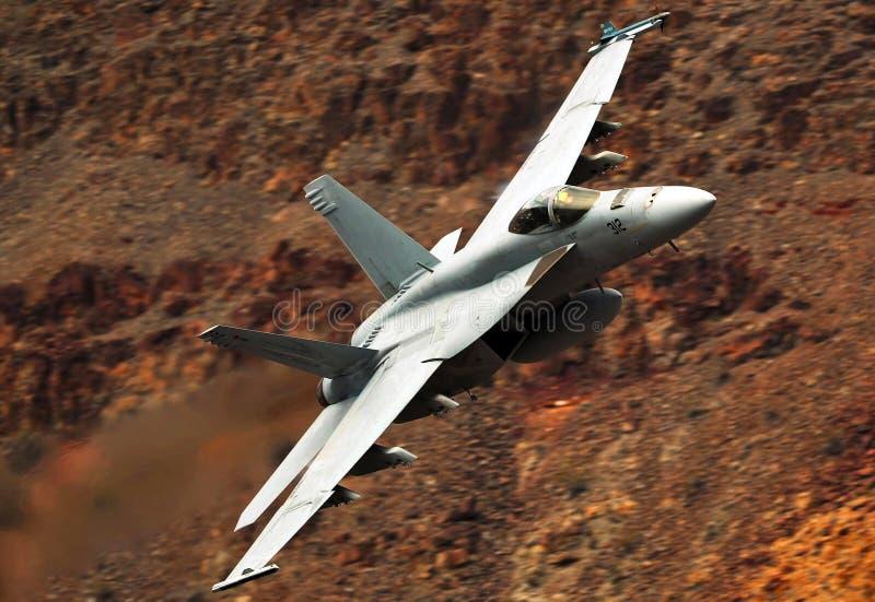 Um zangão super da marinha de Estados Unidos F/A-18 fotos de stock