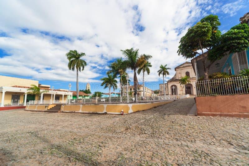 Uma área central do ‹Trinidad do †do ‹do †imagens de stock