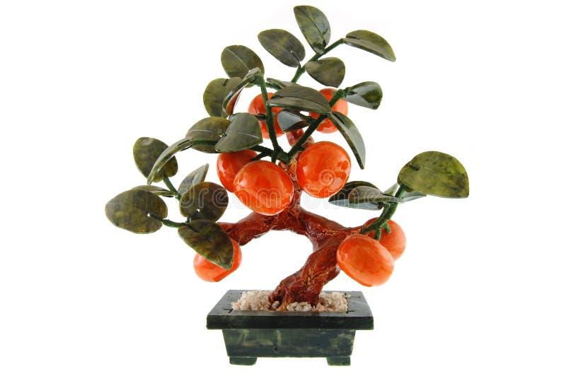 Uma árvore da pedra da lembrança imagem de stock