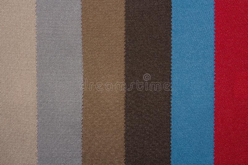 Uma amostra de texturas multi-coloridas das telas imagens de stock