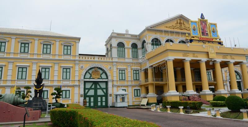 Uma arquitetura ocidental em Banguecoque, Tailândia fotos de stock