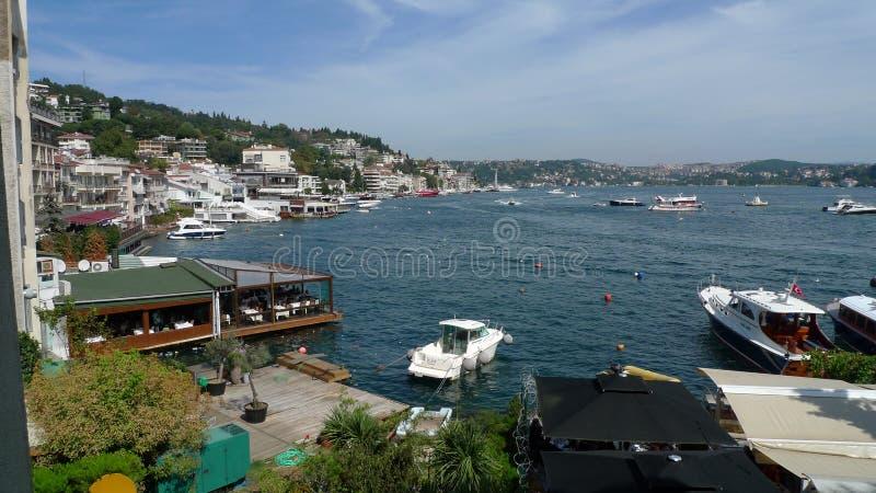 Uma baía bonita Istambul fotografia de stock royalty free