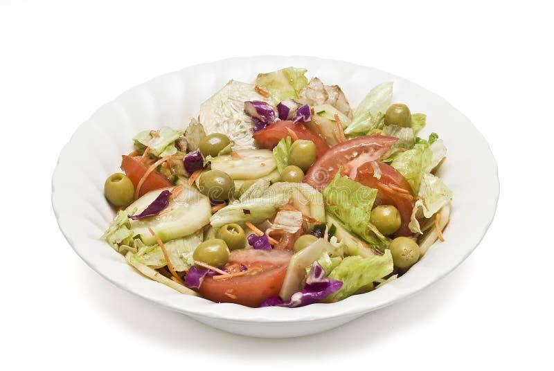 Uma bacia de salada. fotos de stock
