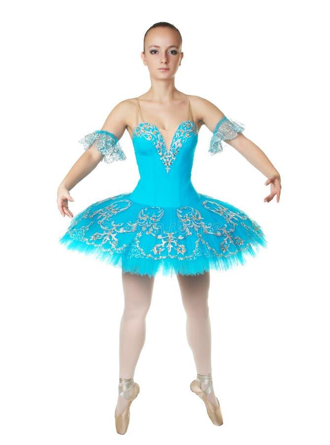 Uma bailarina maravilhosa nova está dançando graciosa imagens de stock royalty free