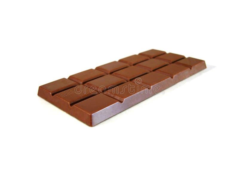 Uma barra de chocolate foto de stock