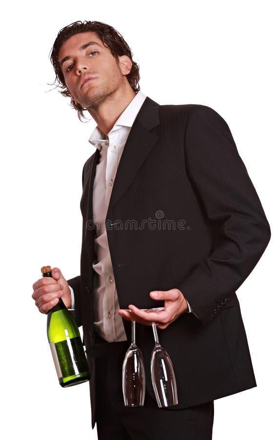 Uma bebida comigo fotografia de stock