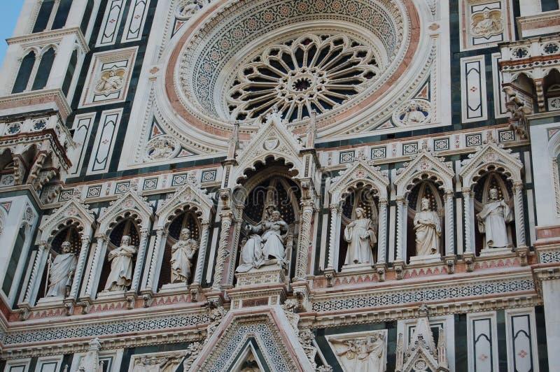 Uma beleza impossível é a parede do palácio em Florença fotografia de stock