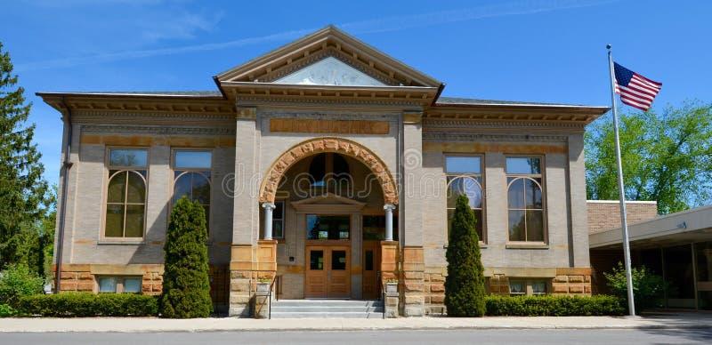 Uma biblioteca de Carnegie imagem de stock royalty free