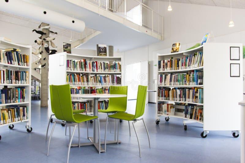 Uma biblioteca em uma universidade fotos de stock royalty free