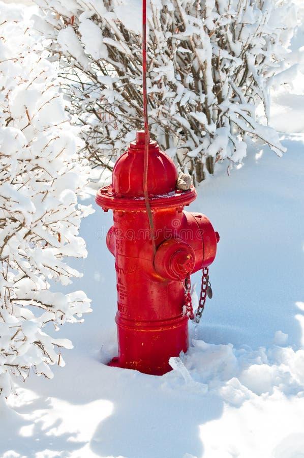 Download Boca De Incêndio De Fogo Vermelho Na Neve Imagem de Stock - Imagem de neve, hydrant: 29838899