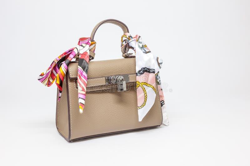 Uma bolsa para mulheres imagens de stock