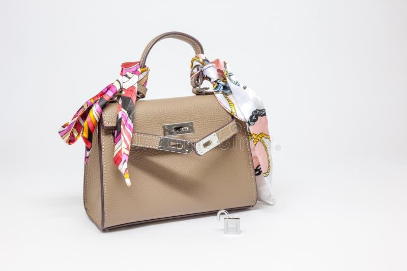 Uma bolsa para mulheres foto de stock royalty free