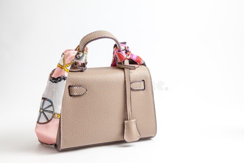 Uma bolsa para mulheres fotografia de stock royalty free