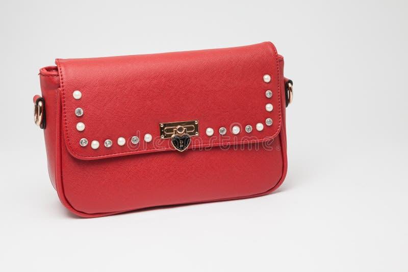 Uma bolsa para mulheres foto de stock