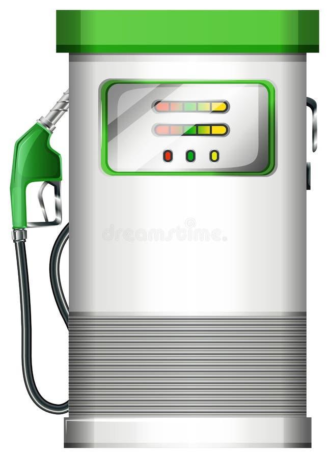 Uma bomba de gasolina ilustração stock