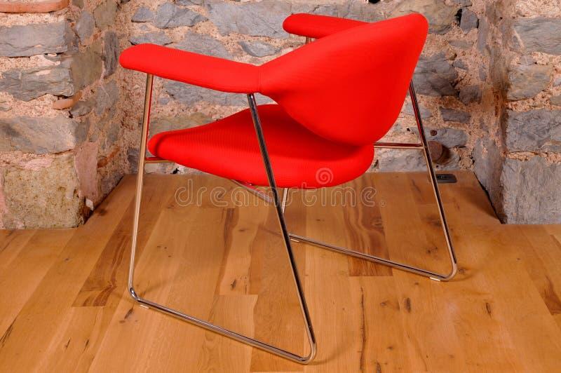 Uma cadeira do escritório foto de stock royalty free