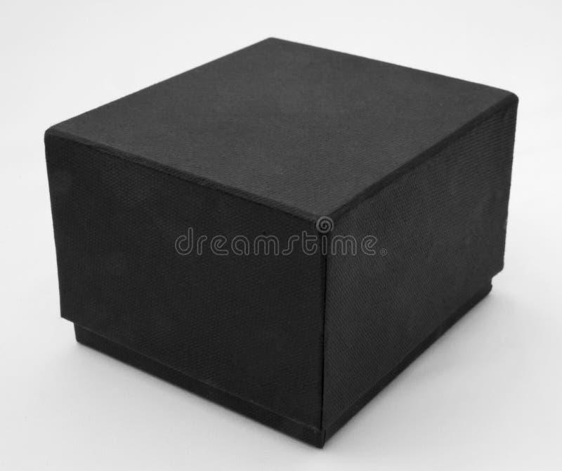 Uma caixa negra. foto de stock royalty free