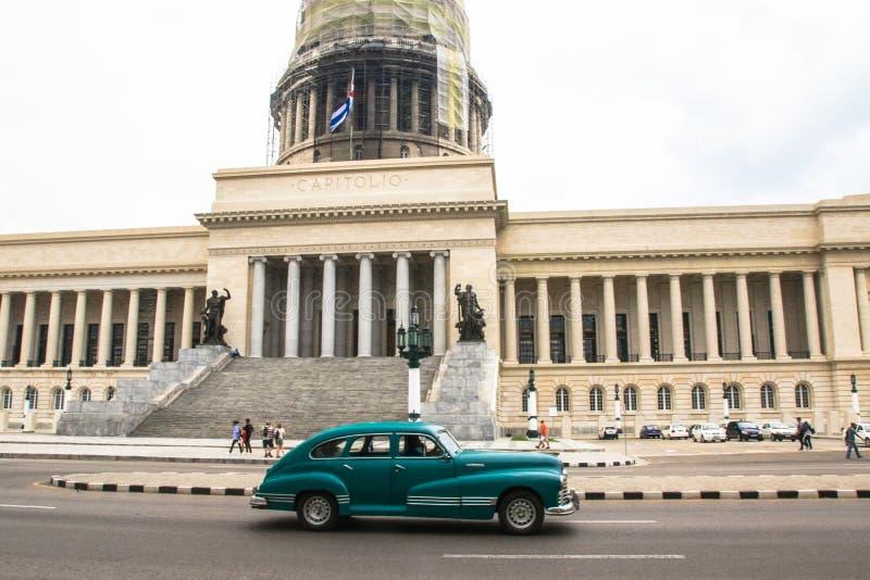 Uma caminhada em torno de Havana velho imagem de stock