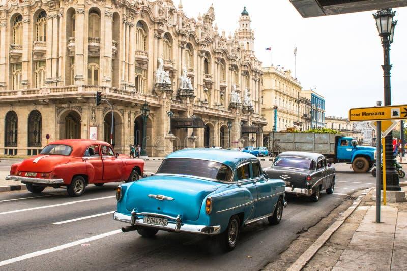 Uma caminhada em torno de Havana velho foto de stock