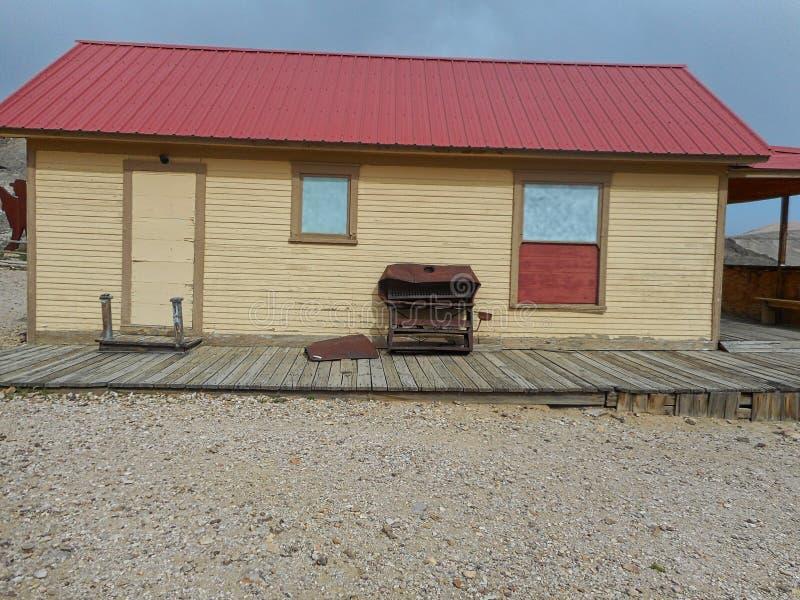 uma casa perdida na nenhumaa parte de texas imagem de stock