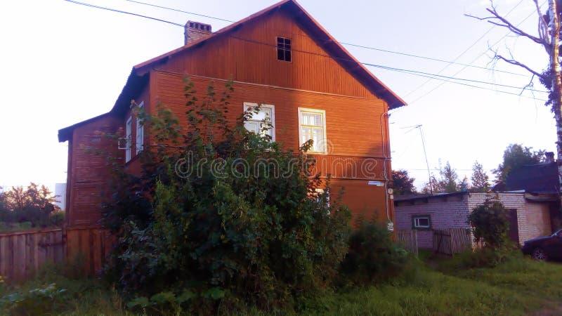 Uma casa velha fotos de stock