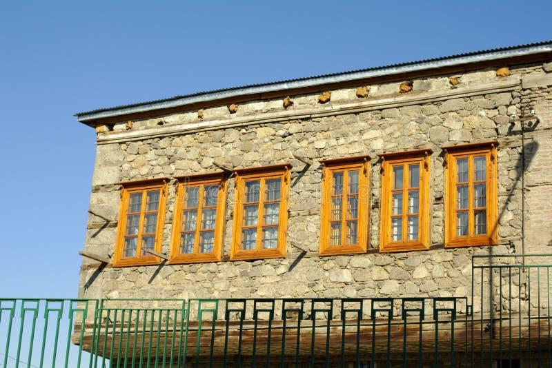 Uma casa velha em Erzurum imagens de stock royalty free