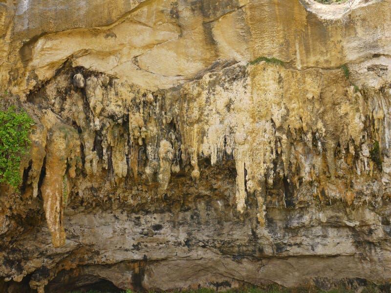 Uma caverna no porto Campbell National Park imagens de stock