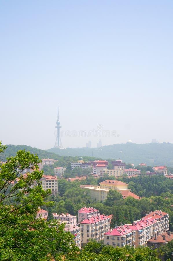 Uma cena de Qingdao imagem de stock