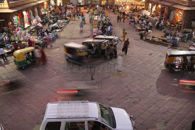 Uma cena do mercado em Jodhpur fotos de stock royalty free
