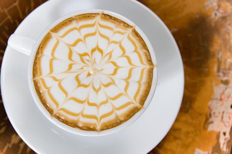 Uma chávena de café fotografia de stock royalty free