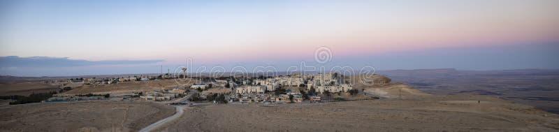 Uma cidade no deserto foto de stock royalty free