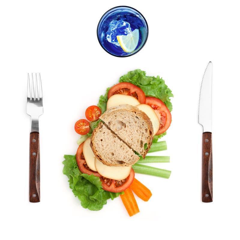 Deixe seu pequeno almoço deixe-o voar. imagens de stock