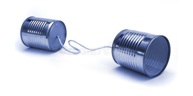 Uma comunicação imagem de stock