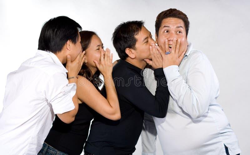 Uma comunicação foto de stock