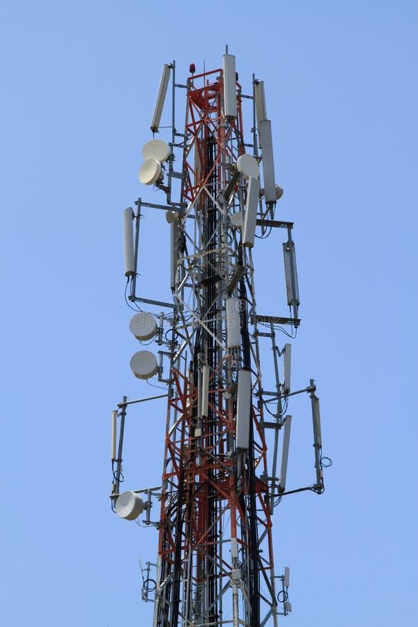 Uma comunicação da antena foto de stock royalty free