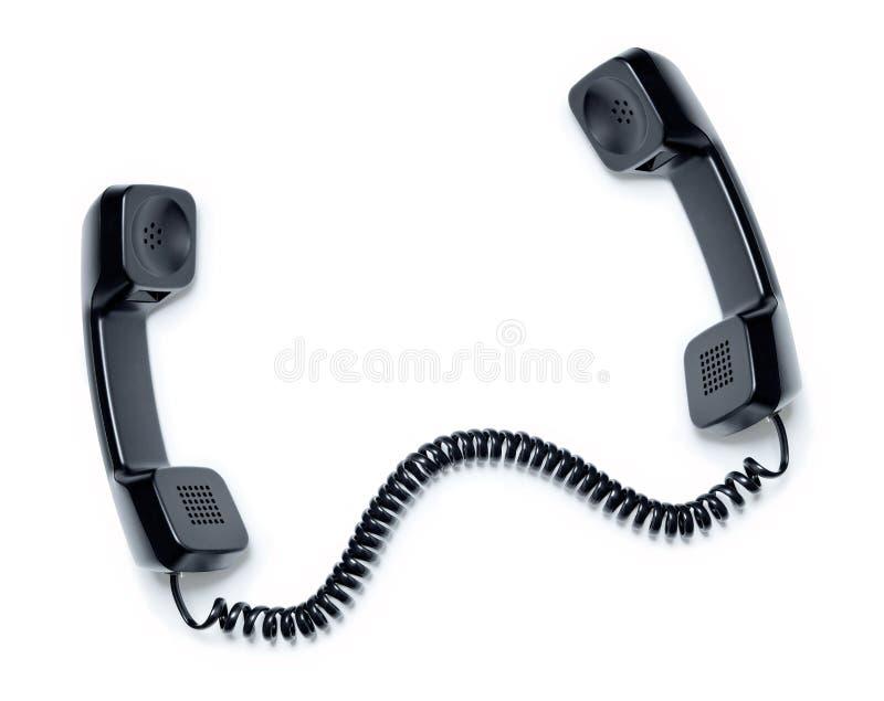 Uma comunicação do telefone imagem de stock