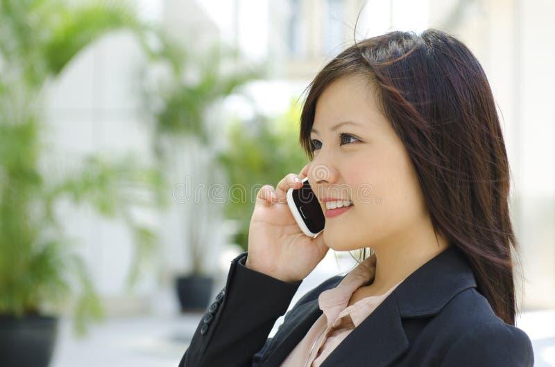 Uma comunicação empresarial fotos de stock royalty free