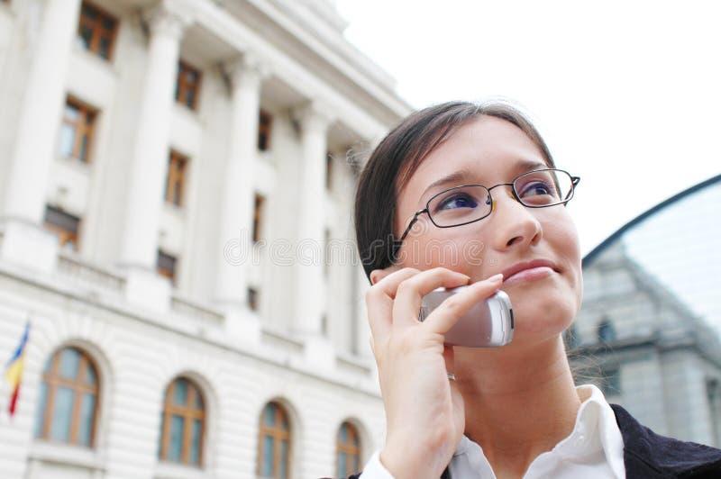 Uma comunicação empresarial 3 fotos de stock