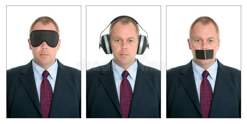 Uma comunicação empresarial fotografia de stock royalty free