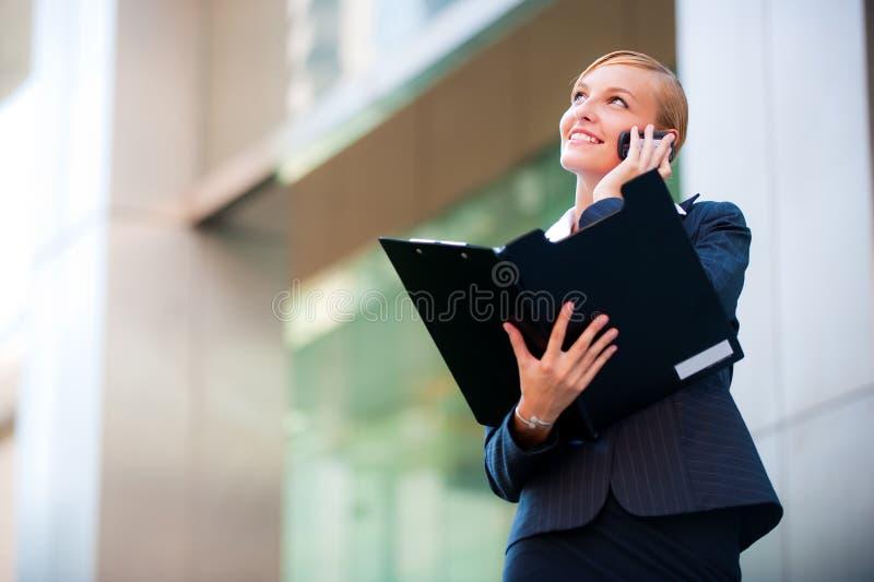 Uma comunicação empresarial imagens de stock royalty free