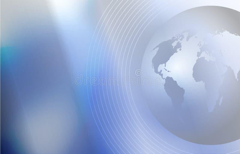 Uma comunicação global ilustração do vetor