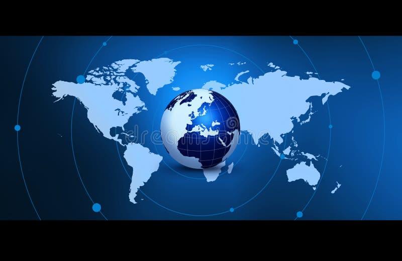 Uma comunicação global. ilustração royalty free