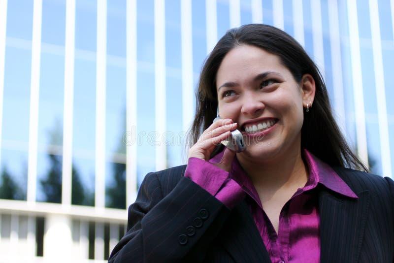 Uma comunicação móvel fotografia de stock
