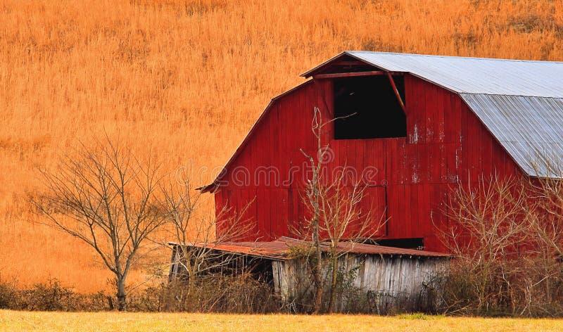 Uma cor rural pequena fotografia de stock royalty free