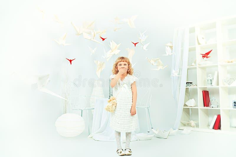 Uma criança imagens de stock royalty free