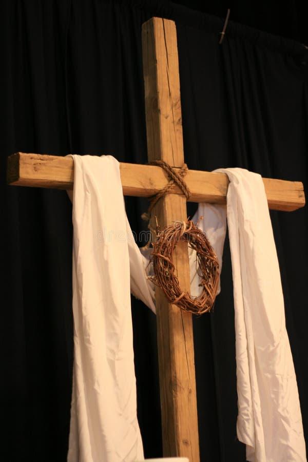 Uma cruz de Easter fotografia de stock