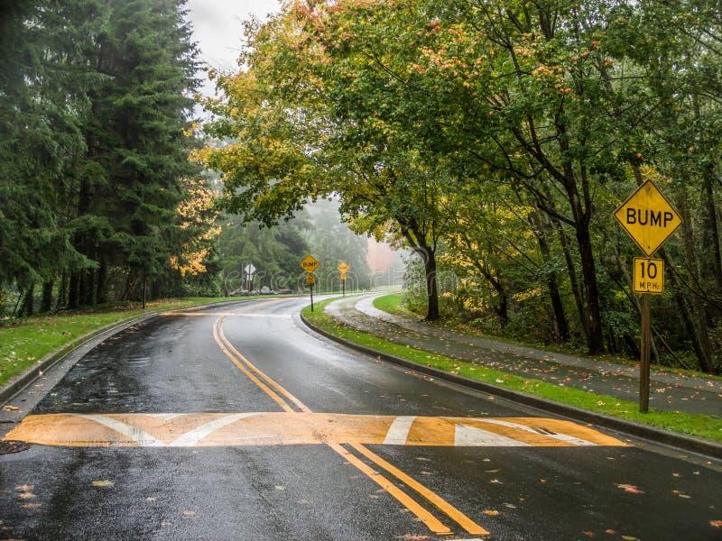 Uma curva na estrada imagem de stock royalty free