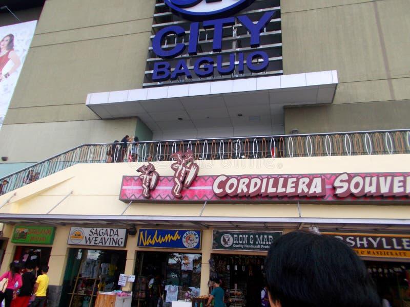 Uma da entrada à cidade Baguio da manutenção programada, Baguio, Filipinas fotografia de stock royalty free